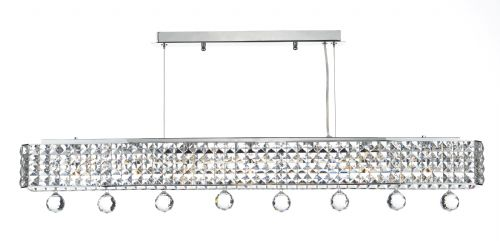 Matrix 6 Light Pendant Polished Chrome (Class 2 Double Insulated) BXMAT0650-17